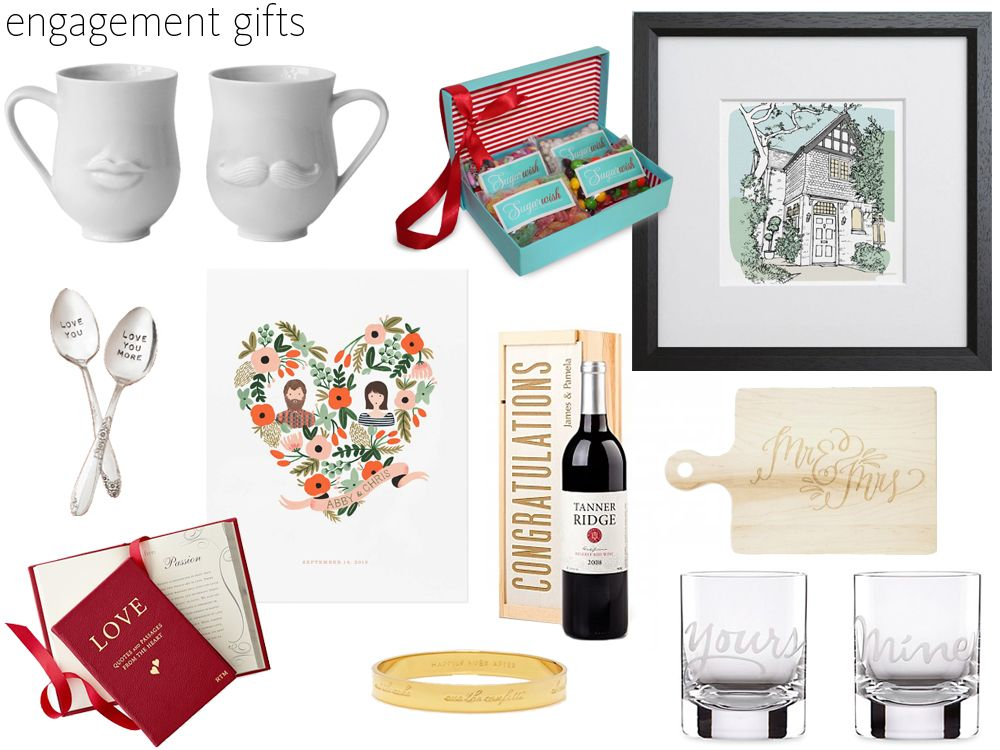 57 Engagement Gift Ideas Party Giftsunique