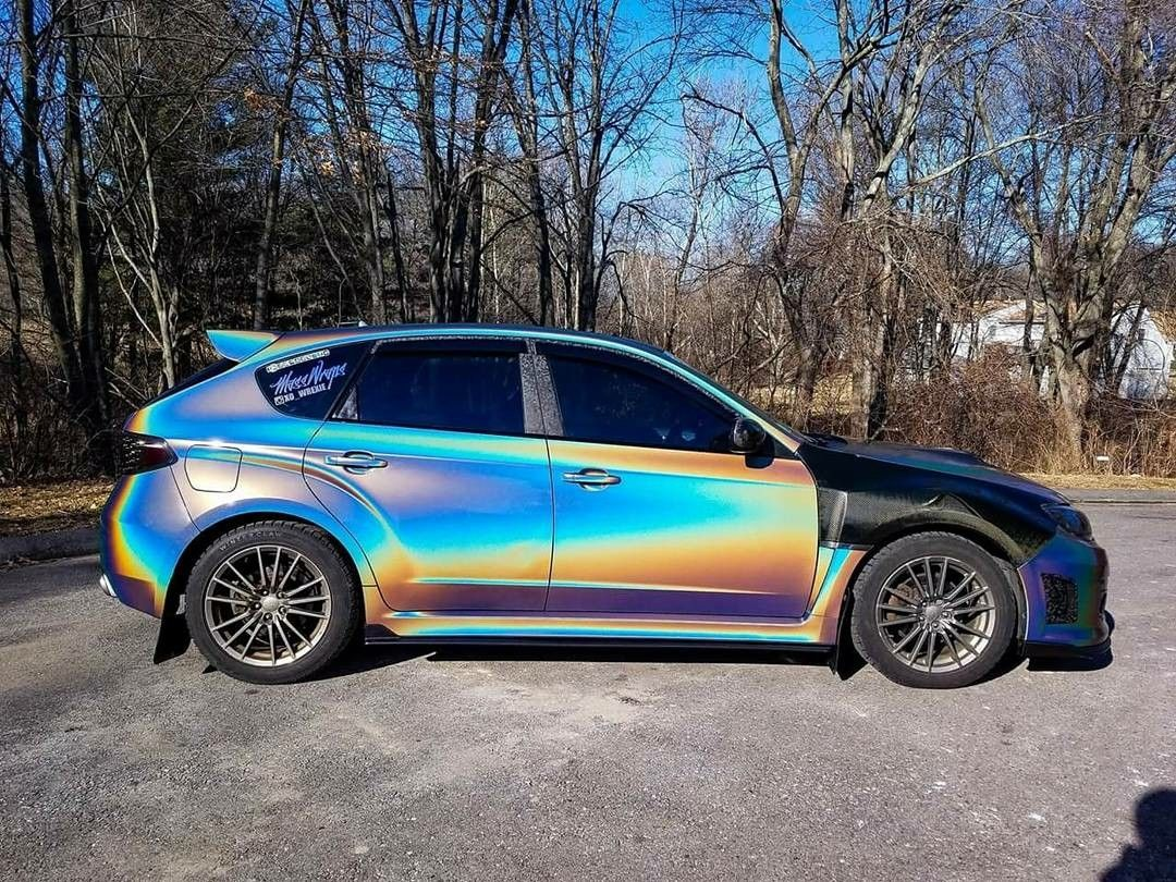 Subaru Wrx Sti Wrapped By Masswraps Subaru Wrx Cars