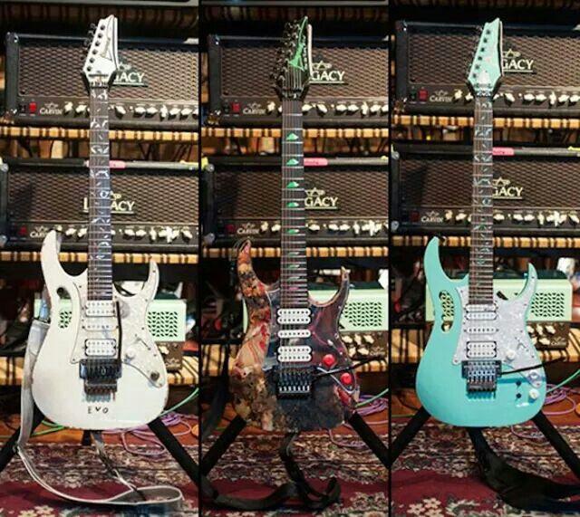 Steve vai guitars