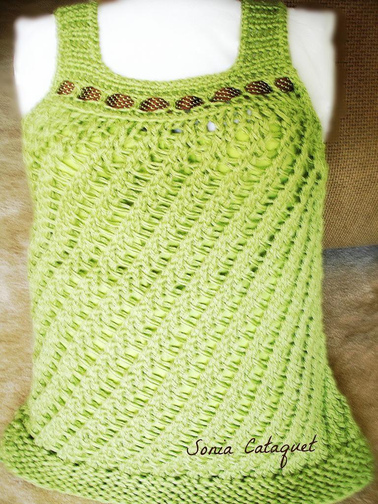 Loom-Knit-Summer-Sweater-Free-Patttern … | Pinteres…