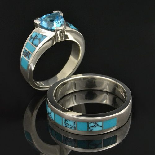Native American Turquoise Wedding Ring Ideas