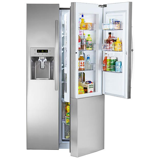 Kenmore 51833 26 1 Cu Ft Capacity Side By Side Refrigerator W