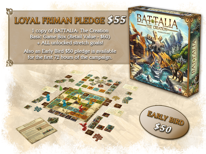 cf9a2b410e5f BATTALIA  The Creation - probably your next board game! by FANTASMAGORIA  Games LLC — Kickstarter