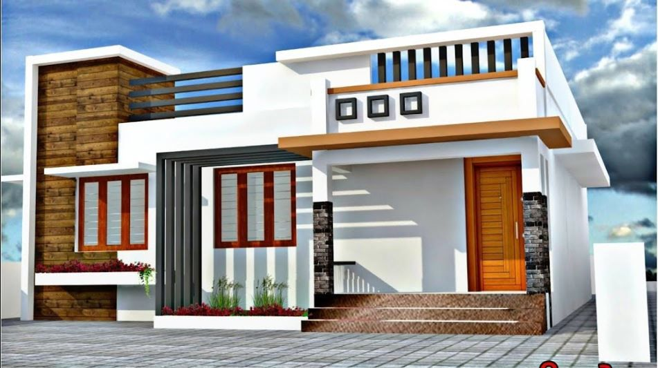 Pin On Home Ideas House front design indian style single floor