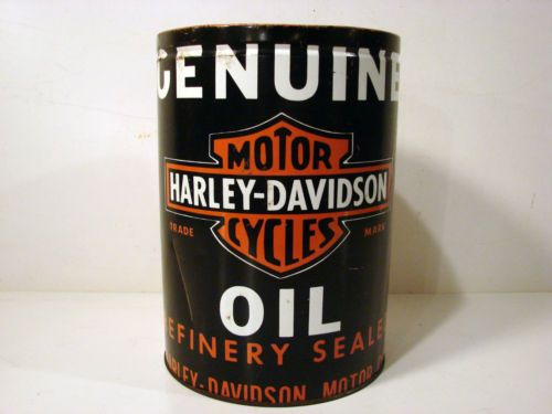 Rare Original 1930s Genuine Harley Davidson Motor Cycles
