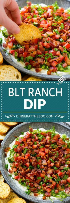 BLT Dip Recipe - Dinner at the Zoo
