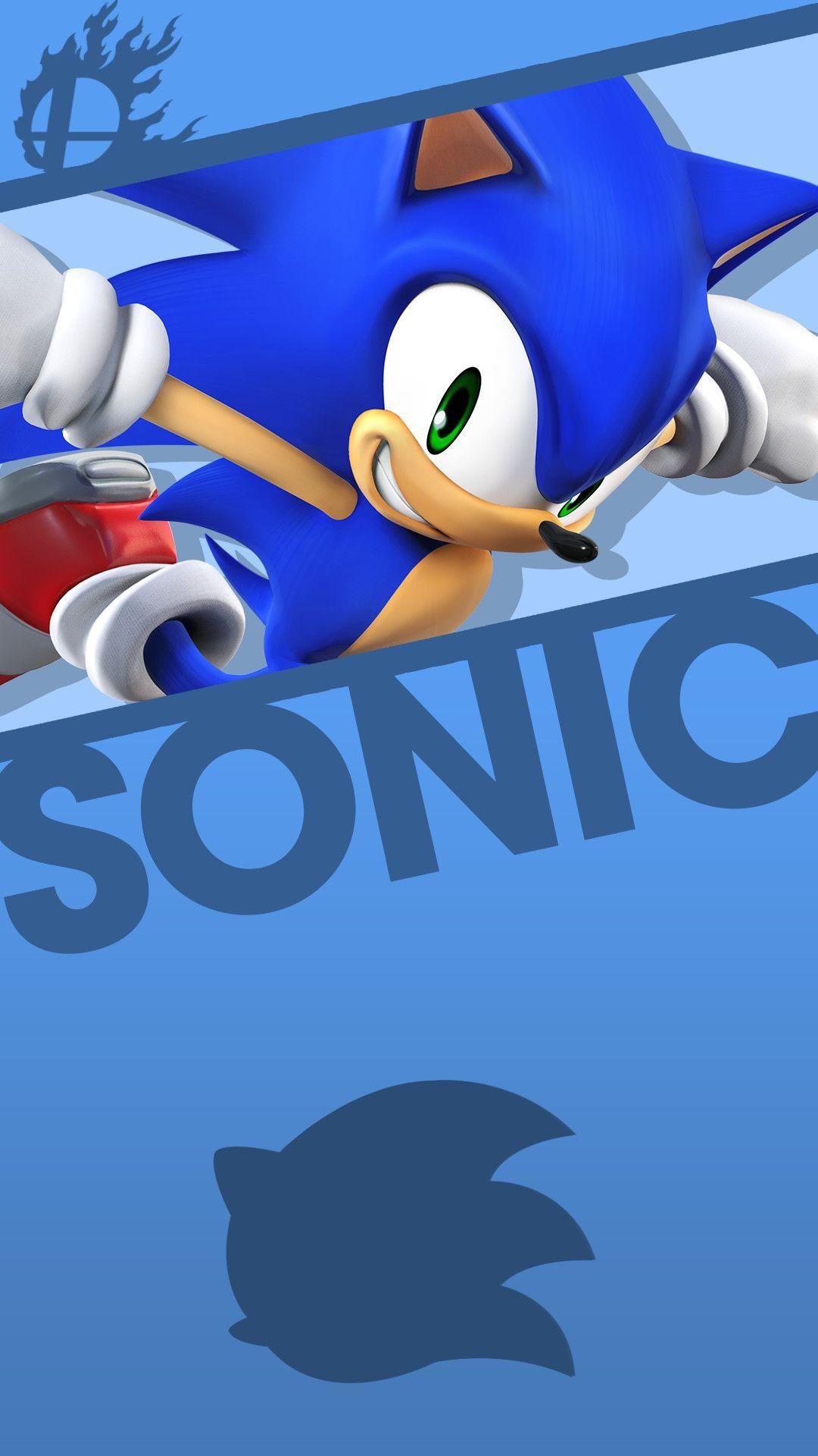 Epic Sonic Phone Wallpaper Sonic Nintendo Super Smash Bros Smash Bros