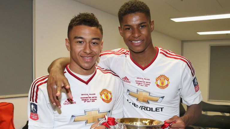 purchase cheap 83f3f d5115 Jesse Lingard and Marcus Rashford are both in the latest ...