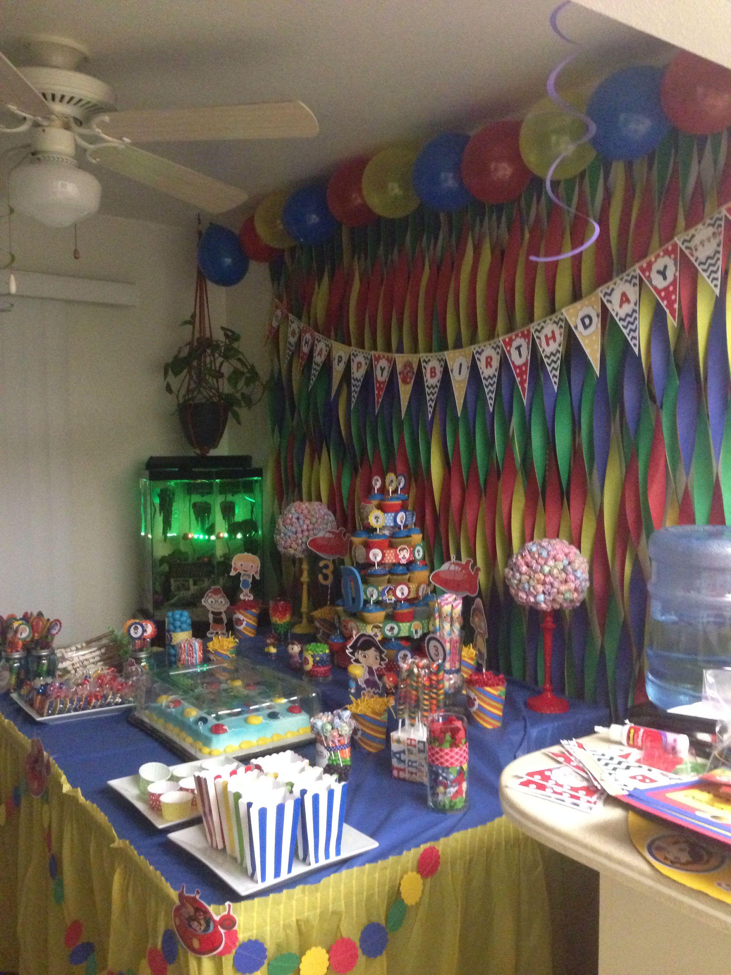 Little Einsteins Party 1st Boy Birthday 4th Parties Decorations