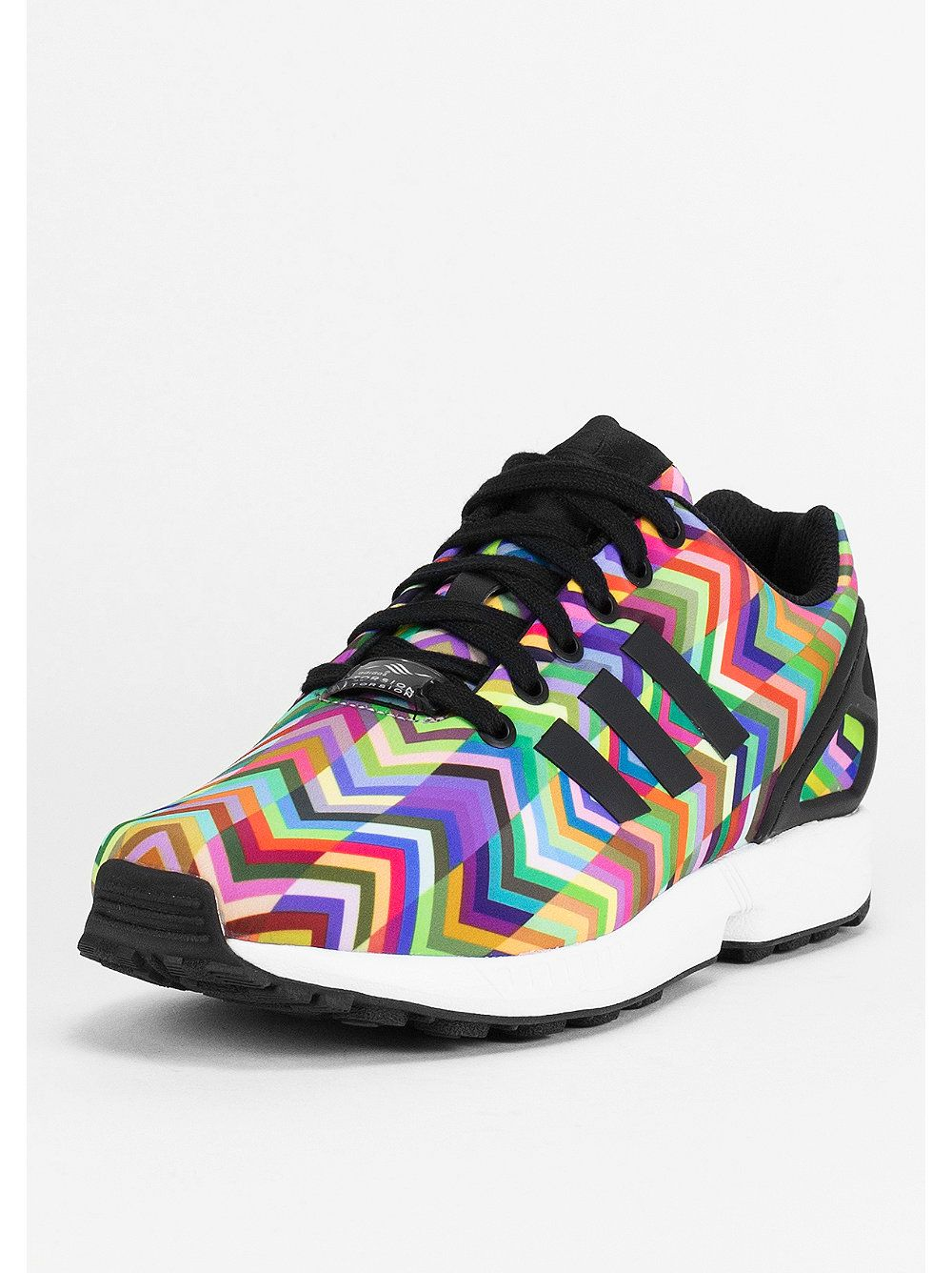 5ab69f90630 Adidas ZX FLUX multicolor | Adidas | Shoes sneakers, Adidas shoes ...