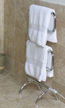 I want one...heated towel rack