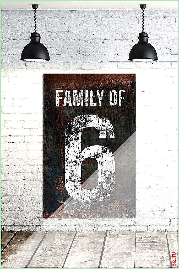 Modern Farmhouse Family Number Sign  Industrial Farmhouse Living Room Wall Decor  Numbers 2- 10  Large Canvas Signs ModernHomeDecorLivingRoom Modern F… #canvas #Decor #Family #Farmhouse #industrial #industrial Living Room rug #Large #Living #Modern #ModernHomeDecorLivingRoom #industrialfarmhouselivingroom