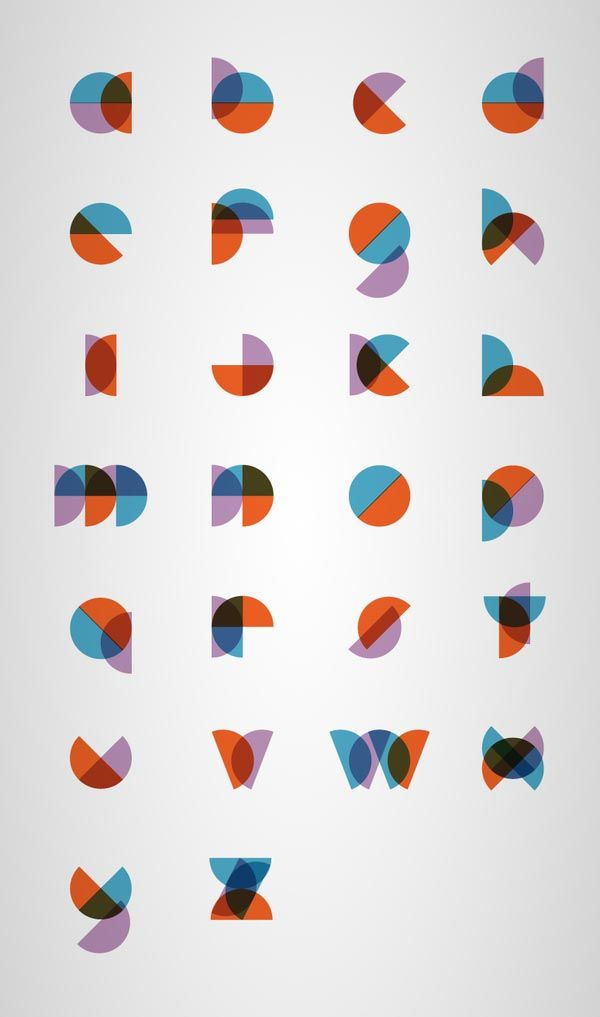 Minimal Type Design by Philippe Cossette