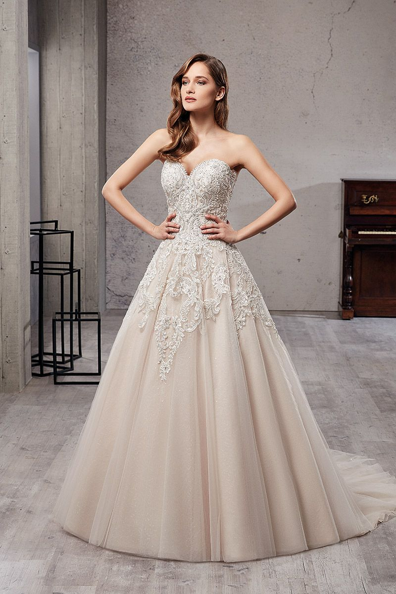Wedding Dress Ct219 Wedding Dress Couture Bridal Gowns Wedding Dresses Strapless
