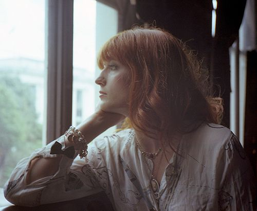 Florence Welch photographed by Mikael Gregorsky