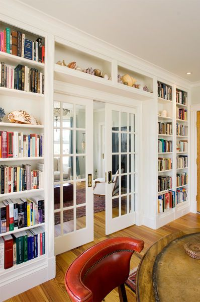 Full Wall Coverage Libraries Bookcases In 2019 Home
