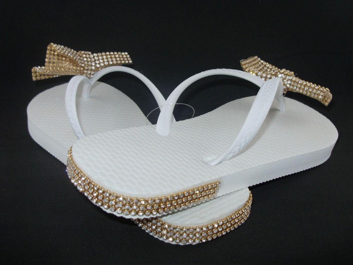 2cf4d3dd7 chinelos customizados com manta de strass | how to deocrate flip ...