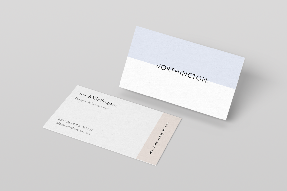 Modern Business Card Template by Ruben Stom on @creativemarket ...