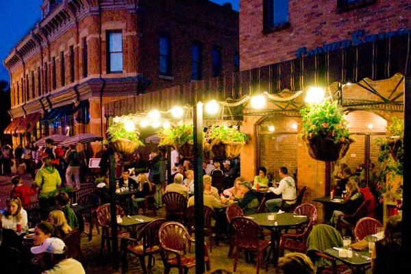 Outdoor Dining In Old Town Fort Collins
