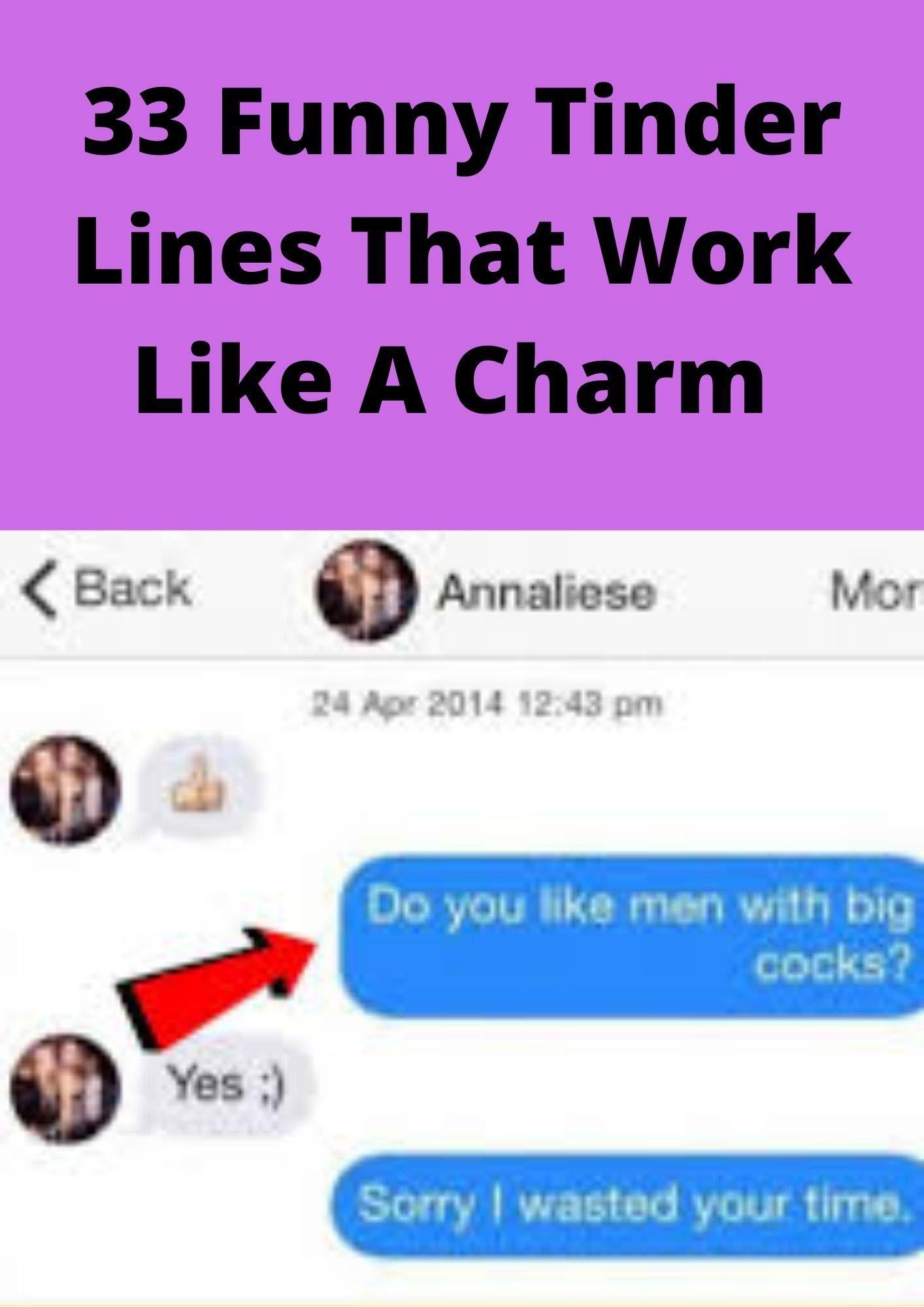 33 Funny Tinder Lines That Work Like A Charm Tinder Humor Tinder Lines Tinder