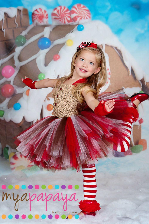 gingerbead tutu dress set 12months5t christmas dress