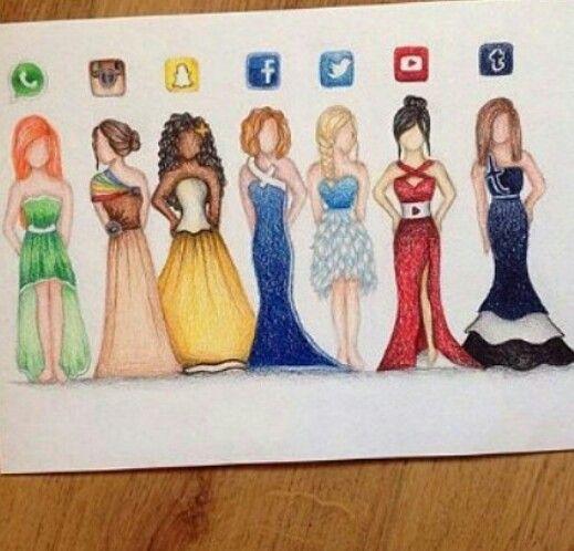 Se i social fossero vestiti !