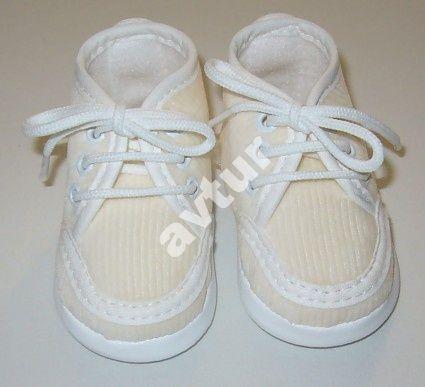 Buciki Do Chrztu R 13 Polski Produkt Sztruks Ecri 5459809530 Oficjalne Archiwum Allegro Baby Shoes Shoes Fashion
