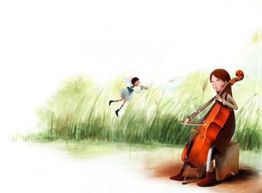 Ilustração de livro infantil por Jangjun - 03