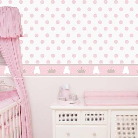 Papel de parede para quarto de beb princesa bebes pinterest - Papel de pared bebe ...