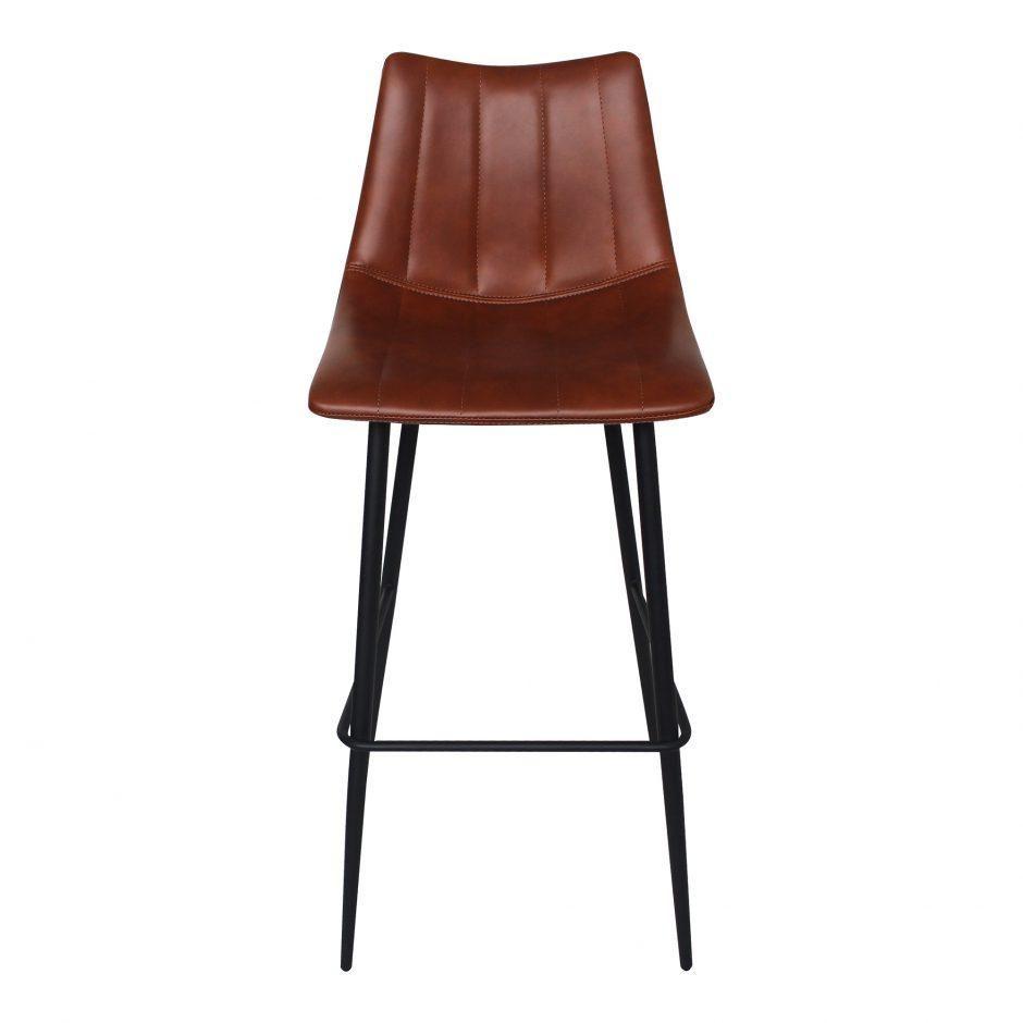 Sherman Barstool Brown M2 Brown Bar Stools Bar Stools Modern Bar Stools