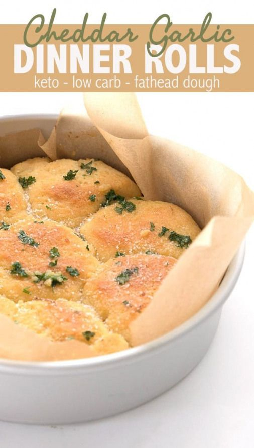 These keto dinner rolls are melt-in-your-mouth delicious. Made with cheddar cheese fathead dough they are the perfect low carb side dish for all of your favorite meals. They make great sandwiches too. via @dreamaboutfood