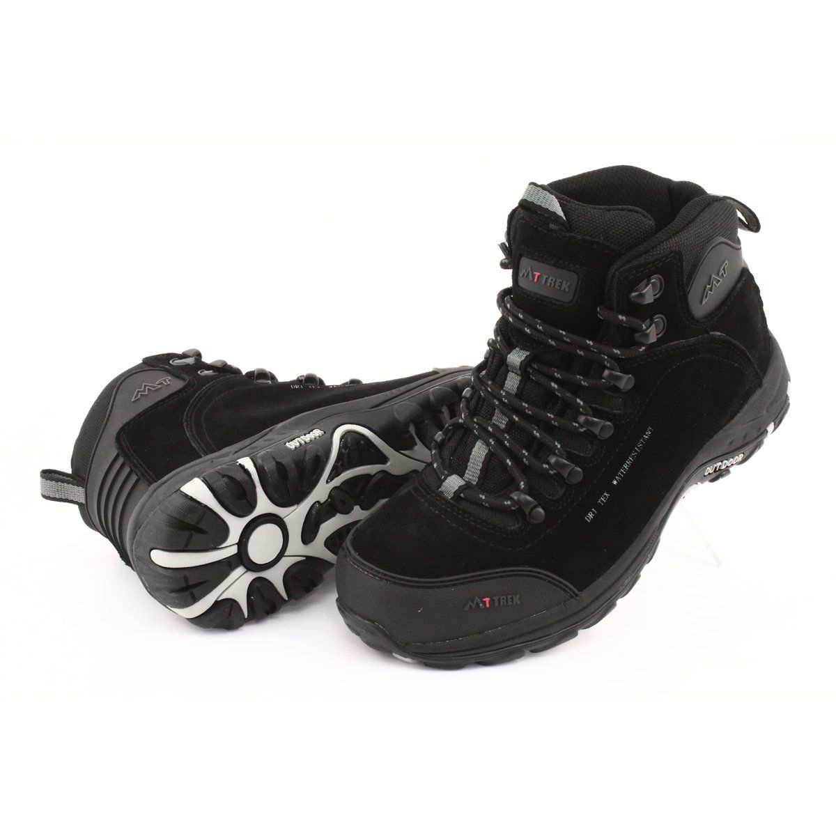 Trapery Z Membrana Mttrek 031 Czarne Trekking Shoes Suede Leather Boots