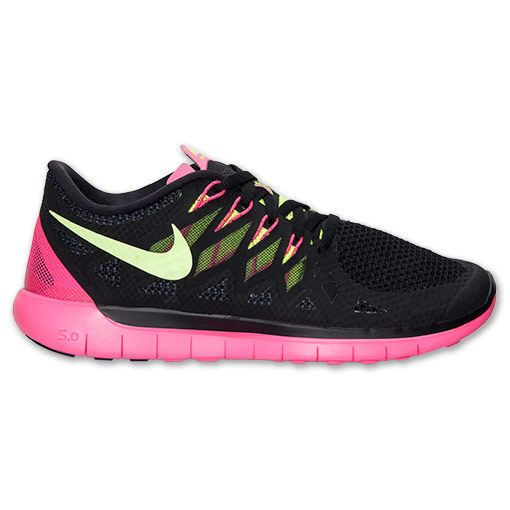 e9ae8075af351 ... france new nike free 5.0 14 2014 running womens black volt hyper pink  nike running d2397