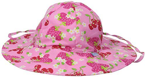 fd91eceefa7be i play Baby Girls Brim Sun Protection Hat Light Pink Berries 06 Months --  BEST VALUE BUY on Amazon  BabyFashion