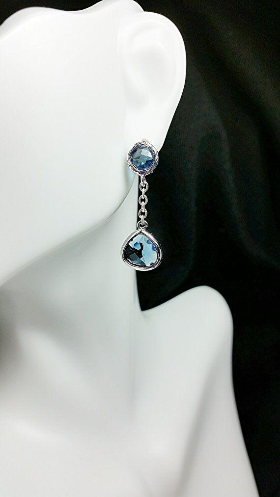 Drops of Ocean Earrings by KeithSnyderCreations on Etsy, $19.99