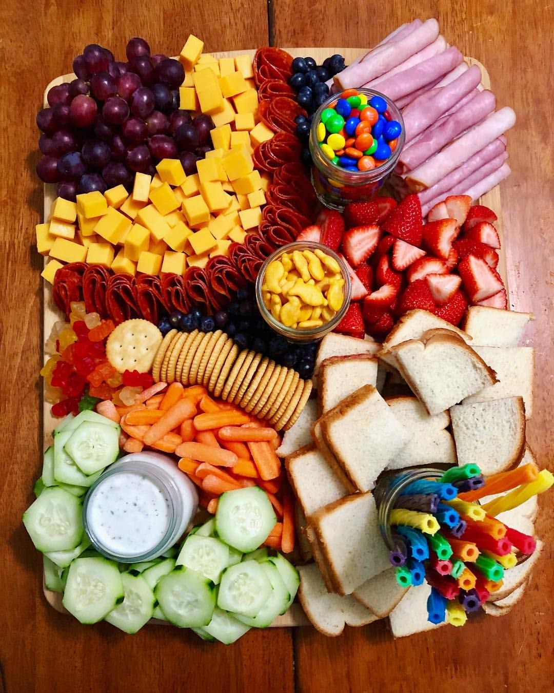 Large KidCuterie Board delivered to help celebrate a