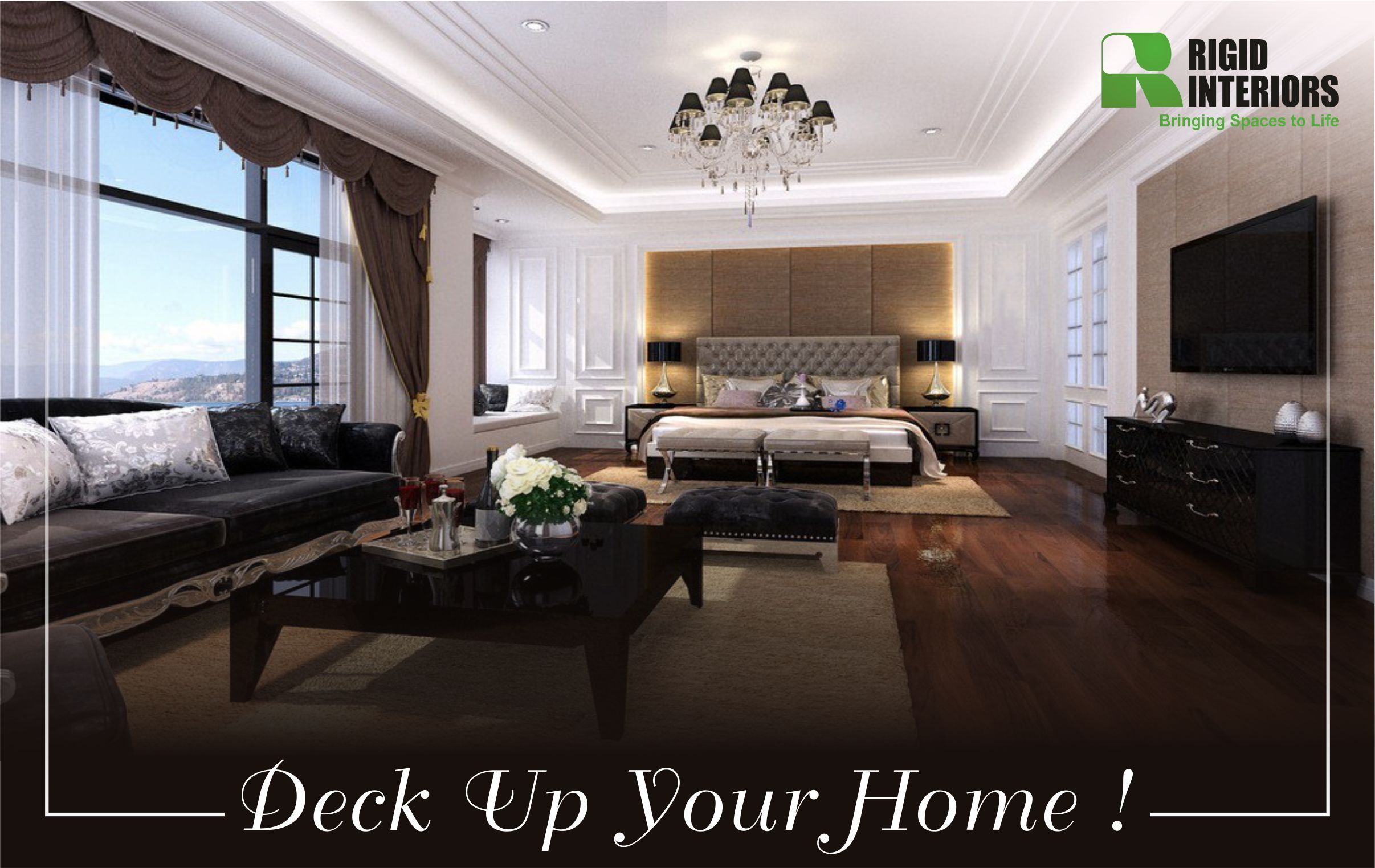 Bring in decor elements of Modern Era in your home interior to add a ...
