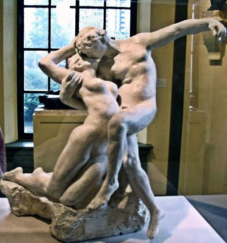 The Eternal Spring Kiss (1906-1907) ~ Auguste Rodin. I love this sculpture i think it's so beautiful.