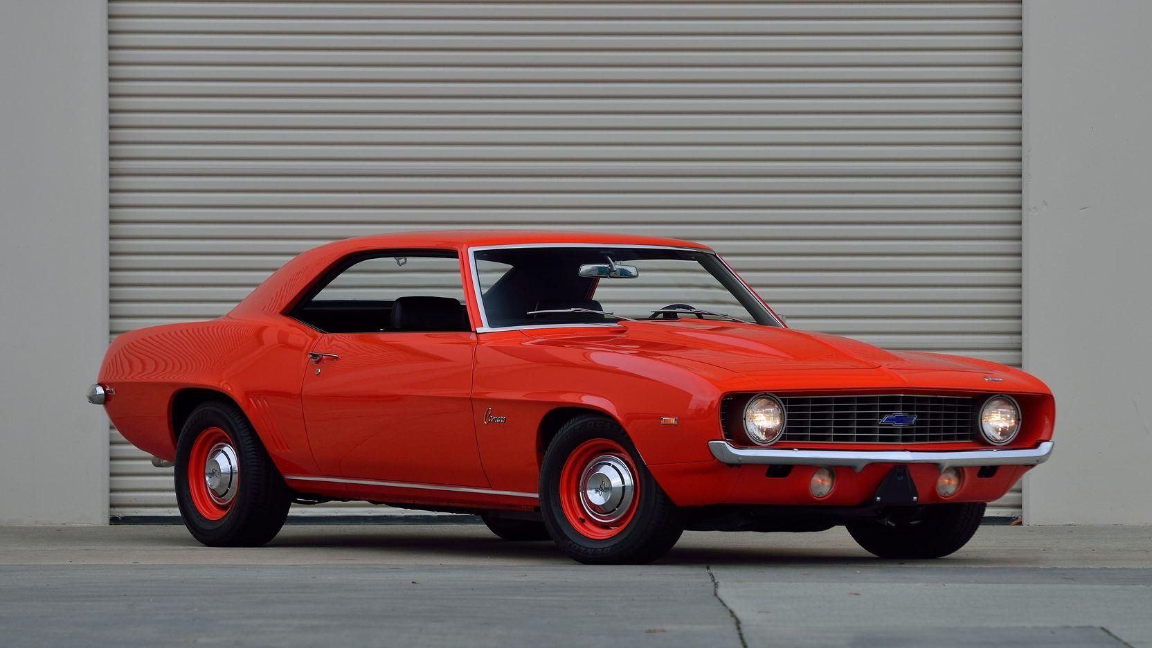 1969 Chevrolet Camaro Zl1 Presented As Lot S108 At Denver Co