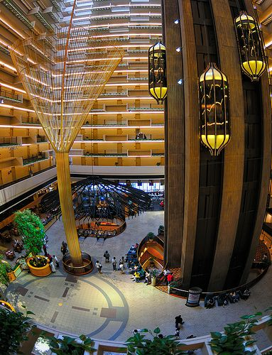 The Hyatt Regency Atlanta Hotel Opened In 1967 And Revolutionised Architecture Designed By John Portman It Instantly Became One Of Most