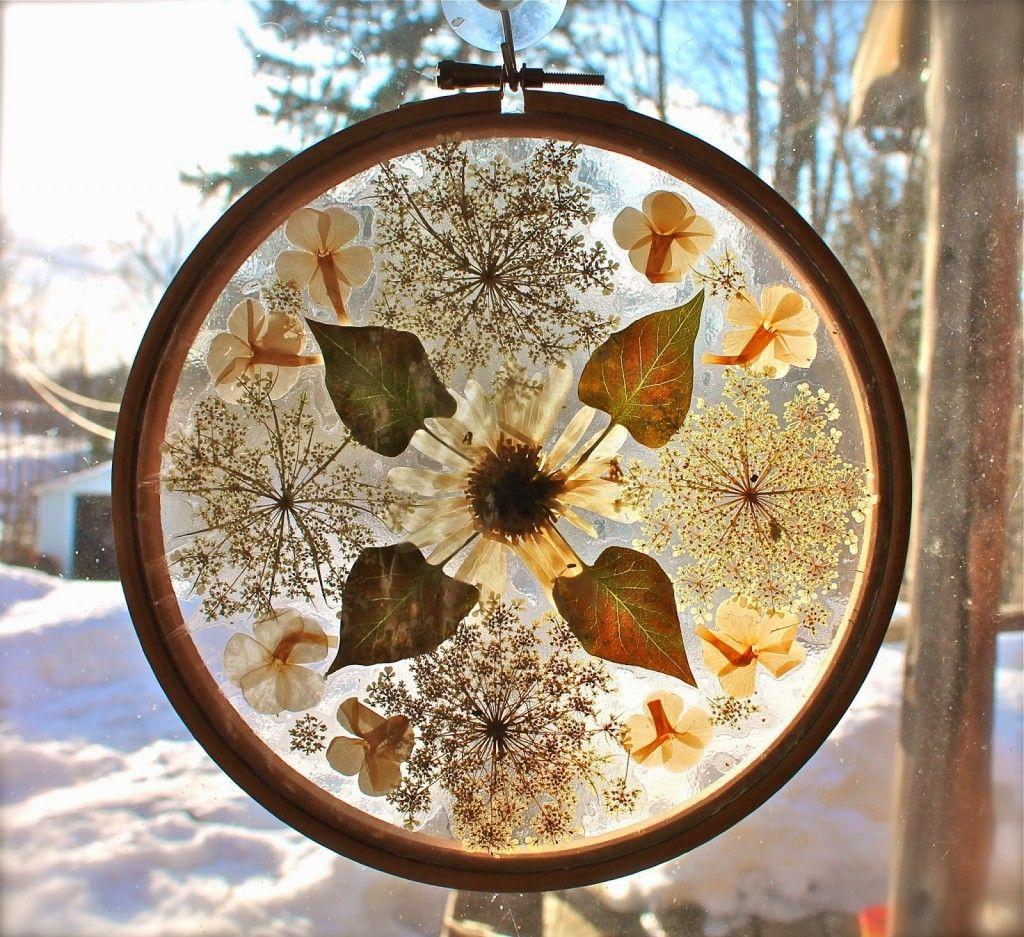 61 outstanding suncatcher craft ideas nature crafts