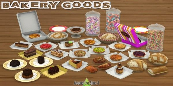 Around The Sims 4 Bakery Goods Sims 4 Downloads The