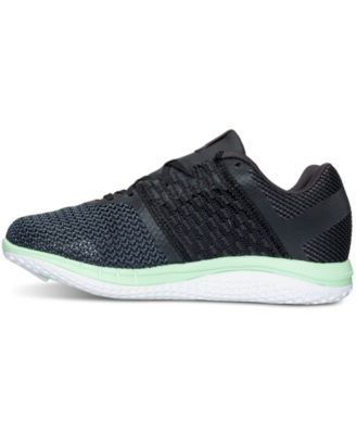Reebok Women s ZPrint Running Sneakers from Finish Line -  GRAVEL BLACK SEAFOAM 11 0ad7ef331