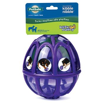 Petsafe Busy Buddy Treat Dispensing Kibble Nibble Dog Toy Small