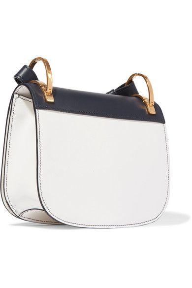 cd0e8930741c9c Prada - Pionnière Two-tone Leather Shoulder Bag - White | Products ...
