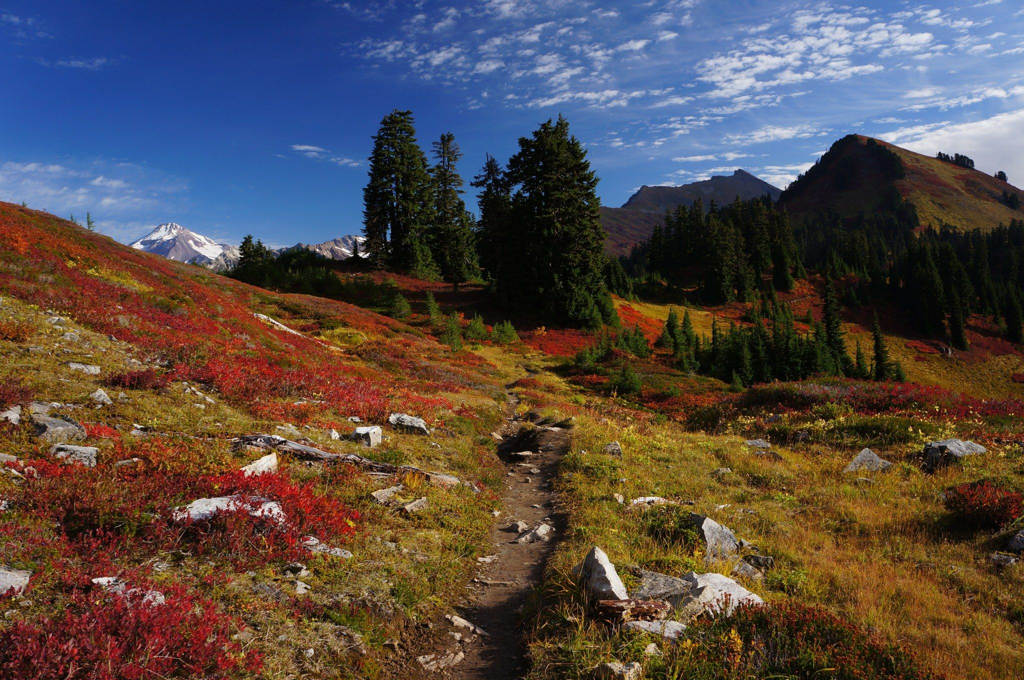 Weekend Backpacking Trips In Washington Photo By