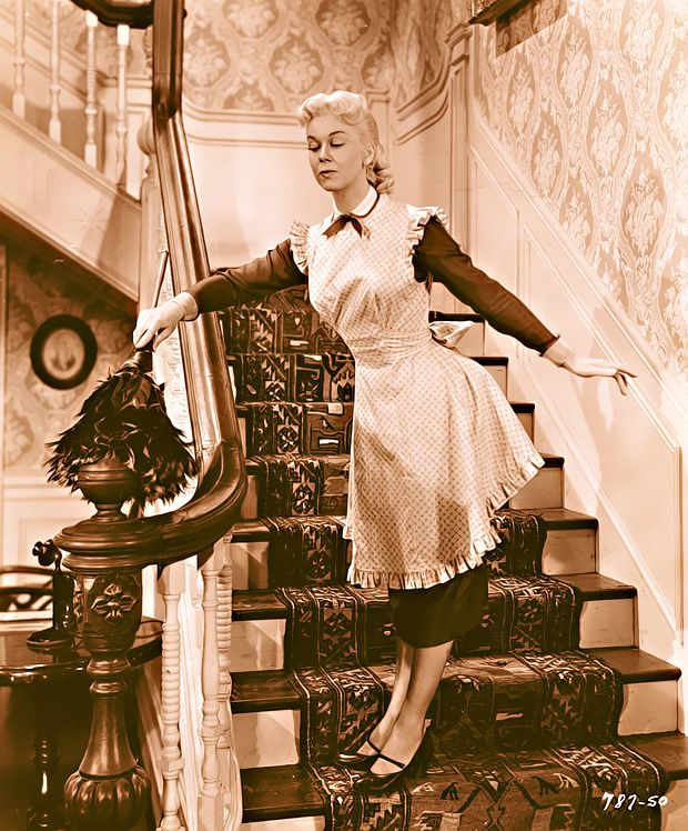 Doris Day, By The Light Of The Silvery Moon...so cute!