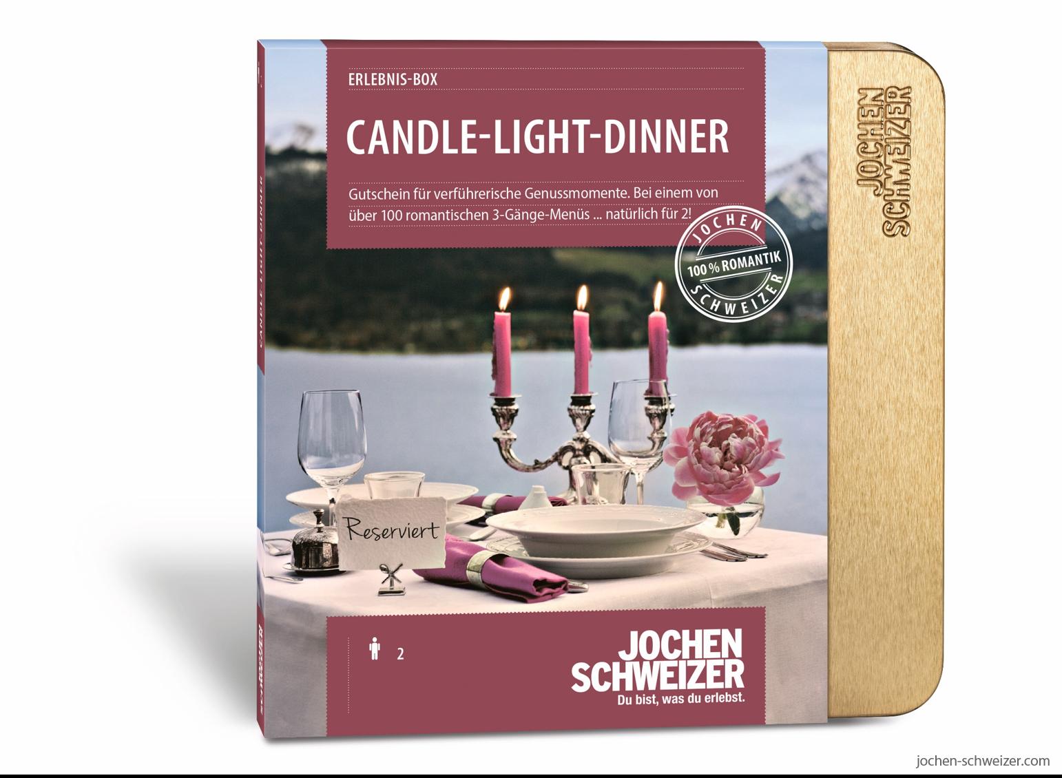 Erlebnis Box Candle Light Dinner Fur 2 Hochzeitsgeschenke