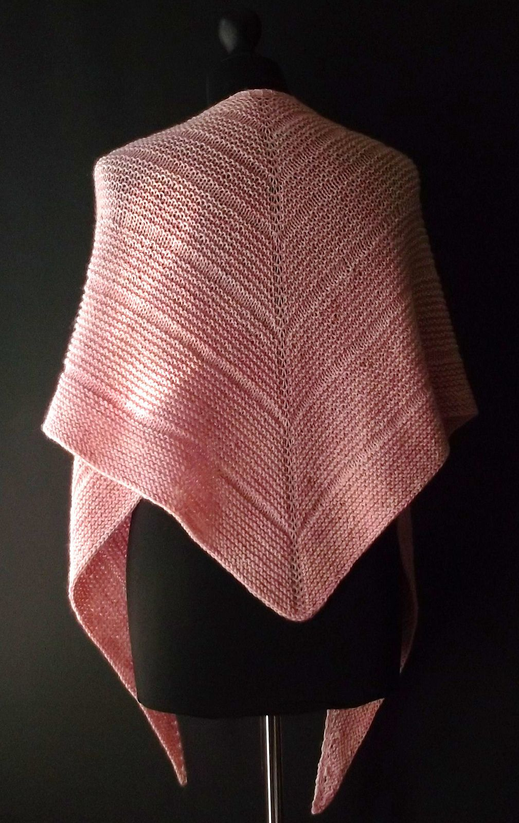 Triangular Shawl Pattern By Brian Smith Projects To Knit