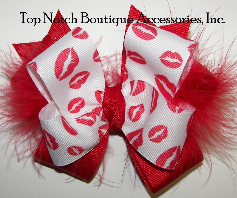#valentines day kisses red lips